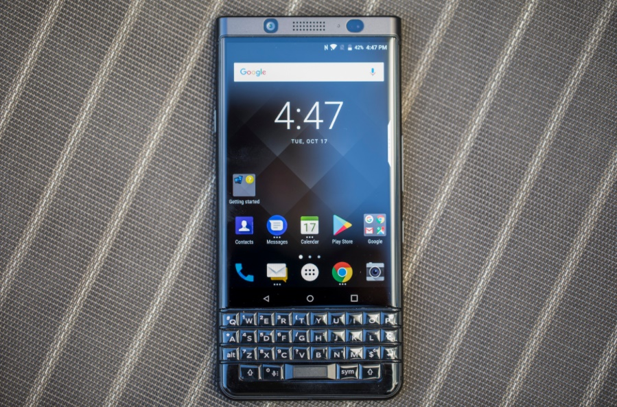 BlackBerry's KEYone