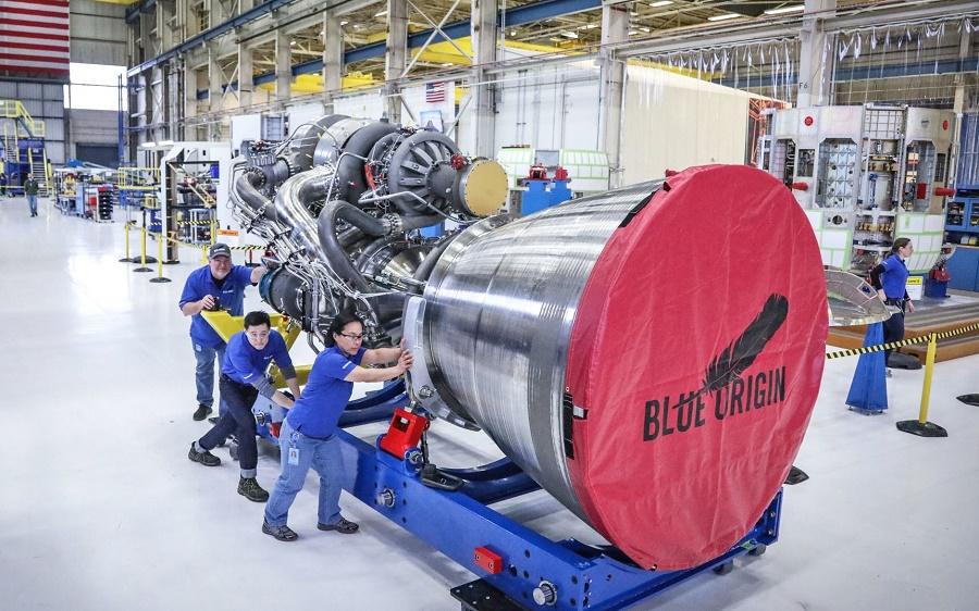 big rocket engine