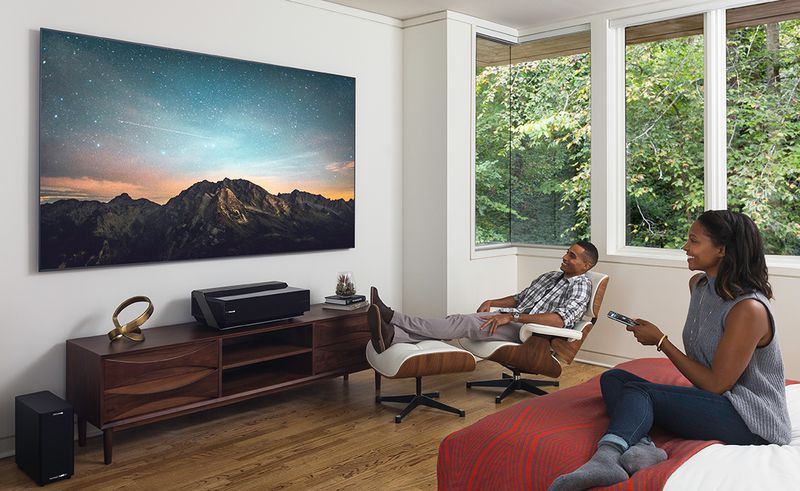 Hisense's 100-inch 4K Laser TV