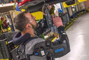 Ford tests exoskeleton