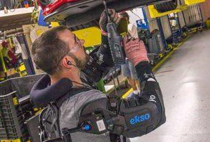 Ford tests exoskeleton