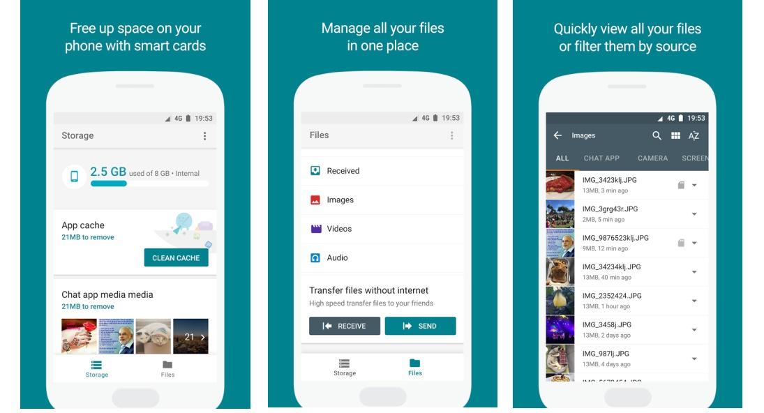 Files Go app