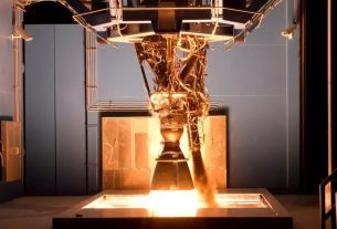 rocket engine exploded