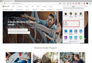 Windows 10 version of AirDrop