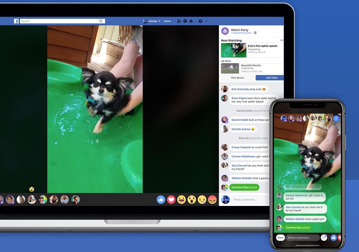 Facebook Live videos