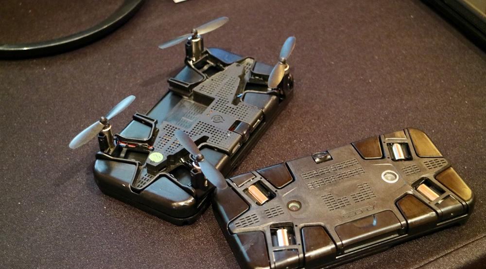 Selfly drone